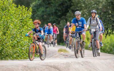 Inauguration du circuit vélo de Lapalud