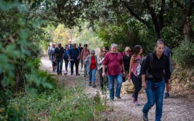 150 personnes à l'inauguration du sentier de randonnée de Patatin à Mondragon