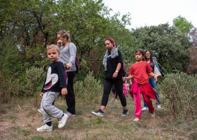 Inauguration sentiers randonnée Mondragon